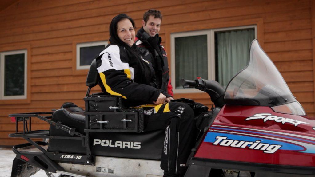 La motoneige adaptée pour les personnes handicapées