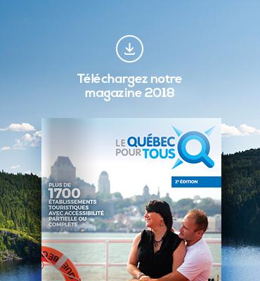 Publicité de la brochure de Kéroul