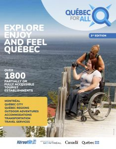 Québec for All Brochure Cover
