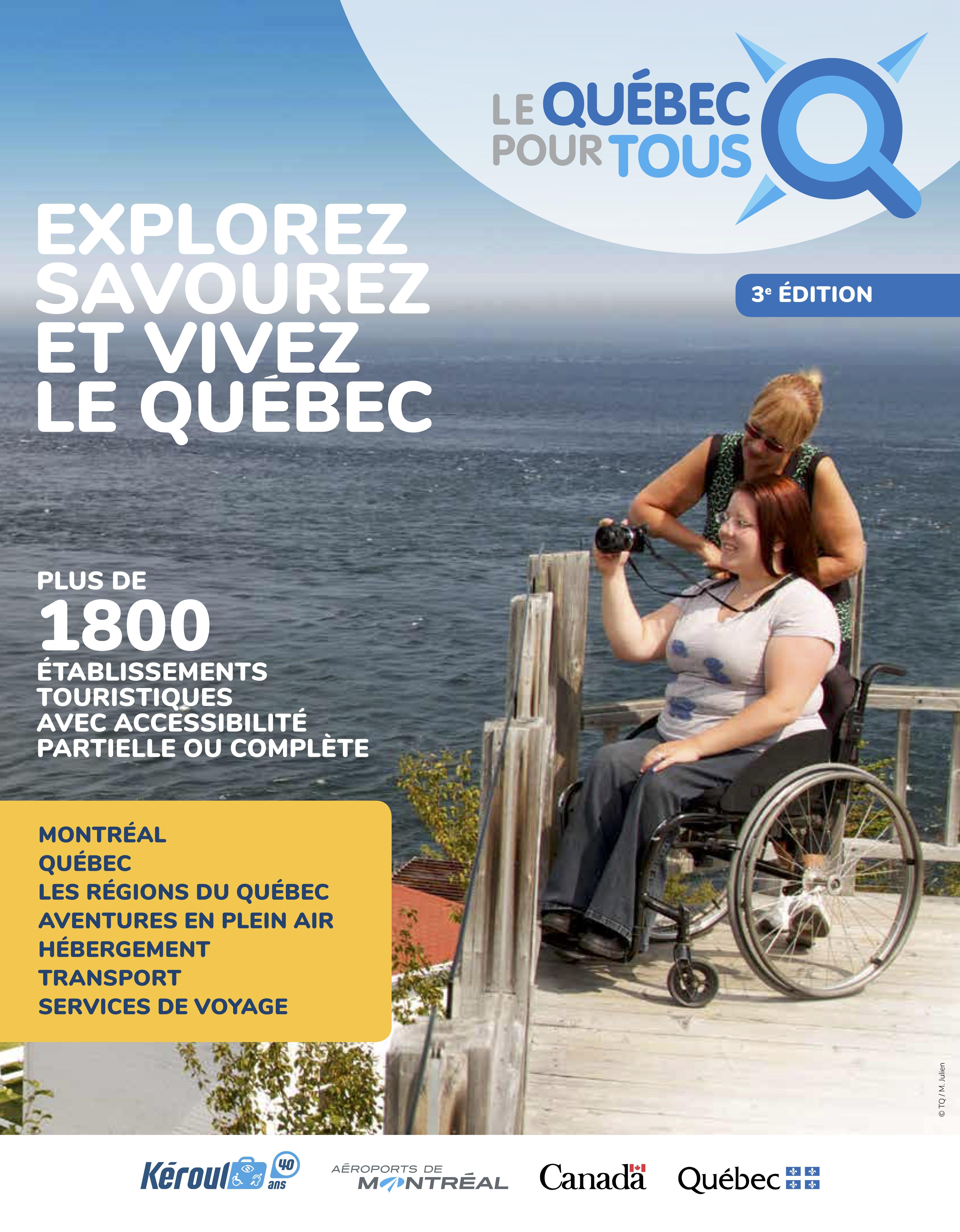 Couverture de la brochure Le Québec pour tous