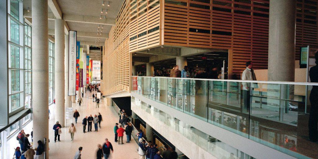 Infrastructures et services accessibles de la Grande Bibliothèque