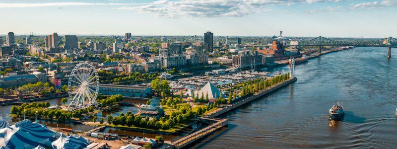 Balade accessible dans le Vieux-Port de Montréal