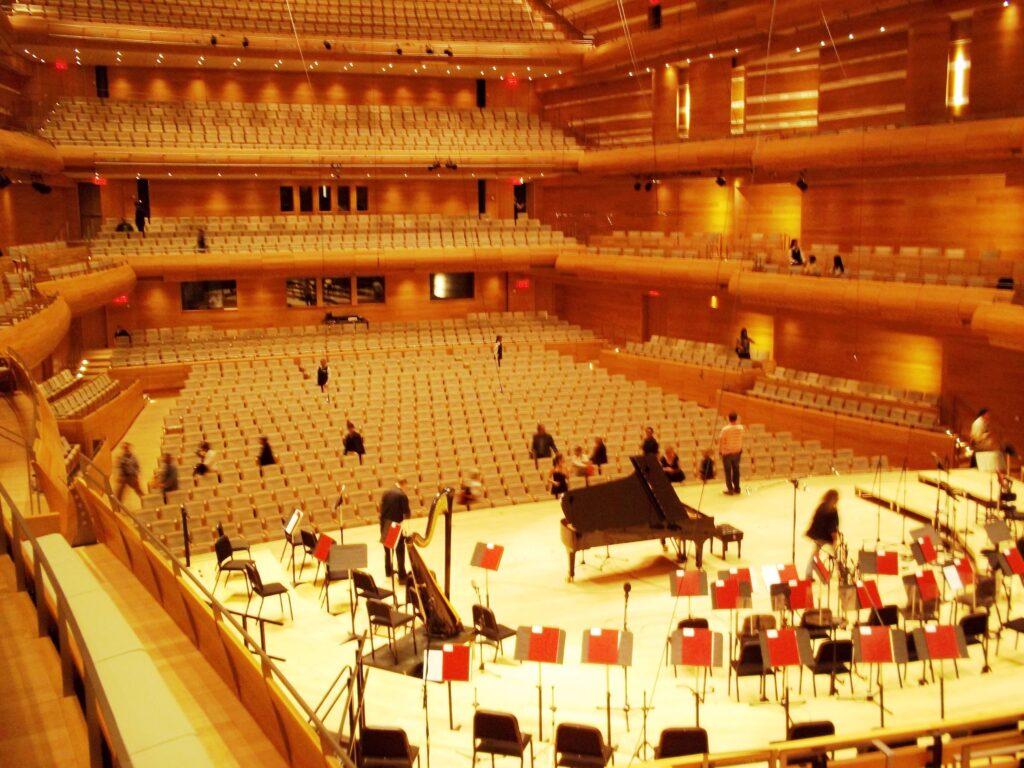 Auditorium de la maison symphonique