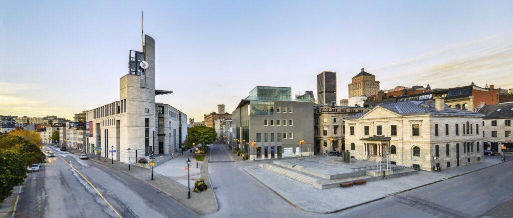 Extérieur de Pointe-à-Callière, Vieux-Montréal
