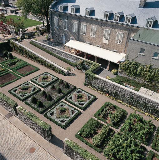 Jardins du Château Ramezay
